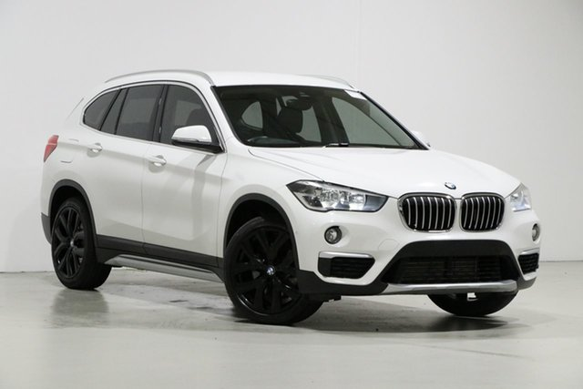Used BMW X1 F48 MY18 xDrive 25I, 2018 BMW X1 F48 MY18 xDrive 25I White 8 Speed Automatic Wagon
