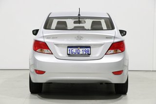 2017 Hyundai Accent RB5 Sport Silver 6 Speed Automatic Sedan