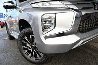 2020 Mitsubishi Pajero Sport QF MY20 GLS Sterling Silver 8 Speed Sports Automatic Wagon.