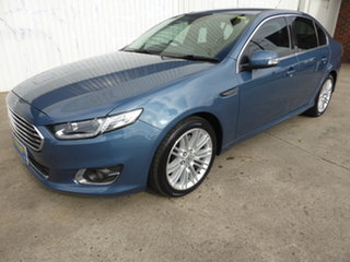 2015 Ford Falcon FG X G6E Aero Blue 6 Speed Sports Automatic Sedan.