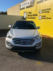 2012 Hyundai Santa Fe DM MY13 Highlander Sleek Silver 6 Speed Sports Automatic Wagon