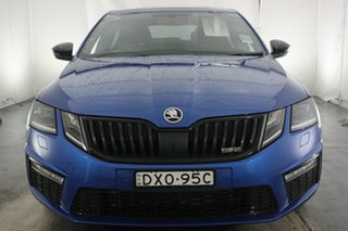2018 Skoda Octavia NE MY18.5 RS Sedan DSG 169TSI Race Blue 6 Speed Sports Automatic Dual Clutch.