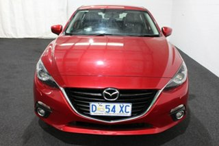 2014 Mazda 3 BM5438 SP25 SKYACTIV-Drive Red/Black 6 Speed Sports Automatic Hatchback.