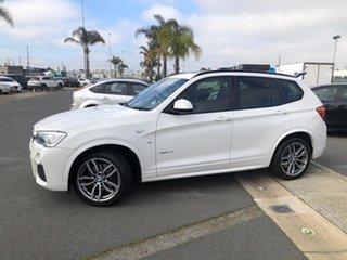 2015 BMW X3 F25 MY15 xDrive30d Alpine White 8 Speed Automatic Wagon.