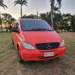 2010 Mercedes-Benz Vito 639 MY10 111CDI Low Roof Extra Long Red 5 Speed Automatic Van.