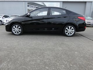 2018 Hyundai Accent RB6 MY19 Sport Black 6 Speed Sports Automatic Sedan