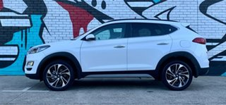 2020 Hyundai Tucson TL3 MY20 Highlander (AWD) Black INT Pure White 8 Speed Automatic Wagon