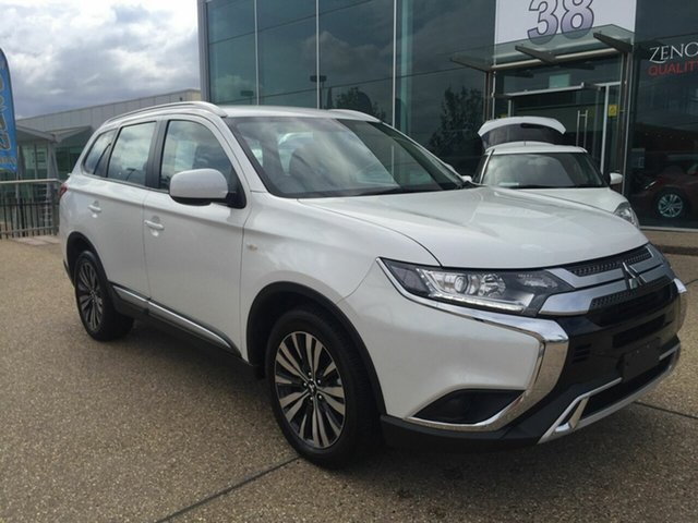 Used Mitsubishi Outlander ZL MY19 ES AWD, 2019 Mitsubishi Outlander ZL MY19 ES AWD White 6 Speed Constant Variable Wagon