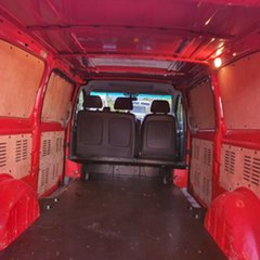 2010 Mercedes-Benz Vito 639 MY10 111CDI Low Roof Extra Long Red 5 Speed Automatic Van