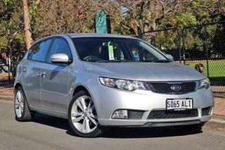 2010 Kia Cerato TD MY11 SLi Silver 6 Speed Manual Hatchback.