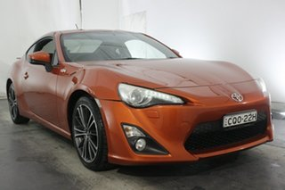 2013 Toyota 86 ZN6 GTS Orange 6 Speed Manual Coupe.