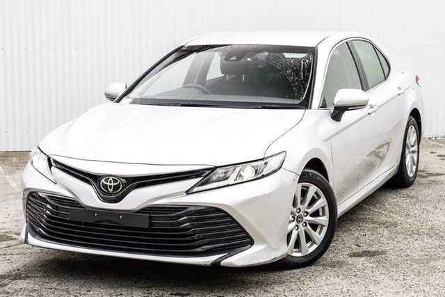 Used Toyota Camry ASV70R Ascent Seaford, 2019 Toyota Camry ASV70R Ascent Silver 6 Speed Sports Automatic Sedan