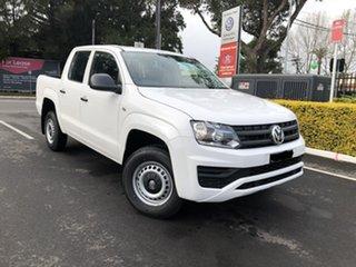 2019 Volkswagen Amarok 2H MY19 TDI420 4x2 White 8 Speed Automatic Utility.