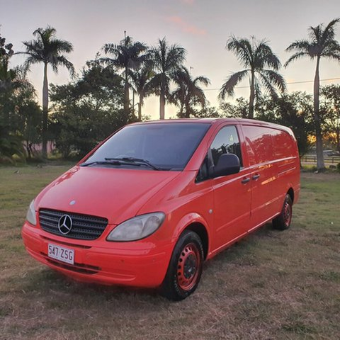 Used Mercedes-Benz Vito 639 MY10 111CDI Low Roof Extra Long, 2010 Mercedes-Benz Vito 639 MY10 111CDI Low Roof Extra Long Red 5 Speed Automatic Van