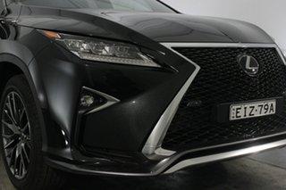 2019 Lexus RX GGL25R RX350 F Sport Black 8 Speed Sports Automatic Wagon.