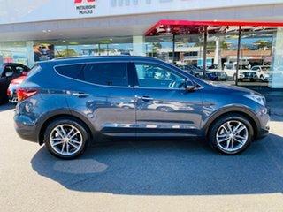 2015 Hyundai Santa Fe DM3 MY16 Highlander Blue 6 Speed Sports Automatic Wagon.