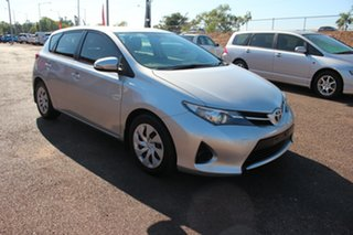 2015 Toyota Corolla ZRE182R Ascent S-CVT Silver Pearl 7 Speed Automatic Hatchback.