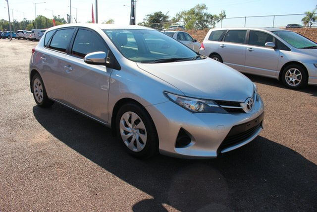 Used Toyota Corolla ZRE182R Ascent S-CVT, 2015 Toyota Corolla ZRE182R Ascent S-CVT Silver Pearl 7 Speed Automatic Hatchback