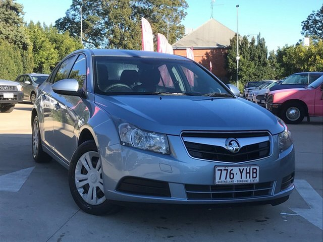 Used Holden Cruze JG CD Toowoomba, 2009 Holden Cruze JG CD Blue 5 Speed Manual Sedan