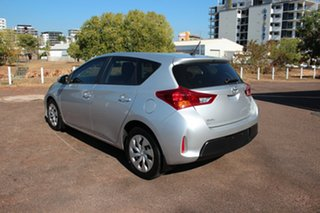 2015 Toyota Corolla ZRE182R Ascent S-CVT Silver Pearl 7 Speed Automatic Hatchback