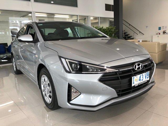 Demo Hyundai Elantra AD.2 MY19 Go, 2019 Hyundai Elantra AD.2 MY19 Go Typhoon Silver 6 Speed Sports Automatic Sedan