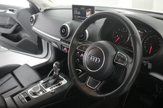 2015 Audi A3 8V MY15 Ambition S Tronic Glacier White 7 Speed Sports Automatic Dual Clutch Sedan