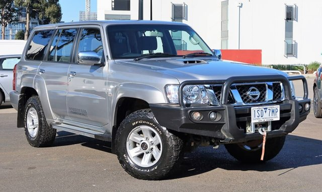 Used Nissan Patrol Y61 GU 10 ST, 2016 Nissan Patrol Y61 GU 10 ST Silver 4 Speed Automatic Wagon