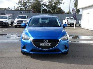 2016 Mazda 2 DJ2HAA Neo SKYACTIV-Drive Blue 6 Speed Sports Automatic Hatchback.
