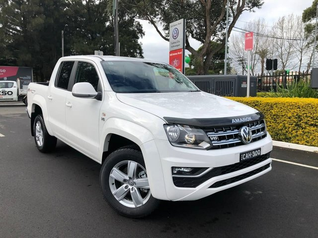 Demo Volkswagen Amarok 2H MY20 TDI550 4MOTION Perm Sportline, 2019 Volkswagen Amarok 2H MY20 TDI550 4MOTION Perm Sportline White 8 Speed Automatic Utility