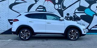 2020 Hyundai Tucson TL3 MY20 Highlander (AWD) Black INT Pure White 8 Speed Automatic Wagon.