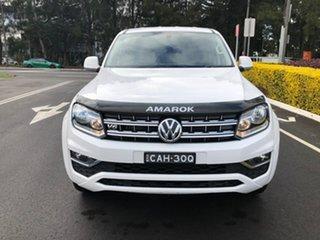 2019 Volkswagen Amarok 2H MY20 TDI550 4MOTION Perm Sportline White 8 Speed Automatic Utility.