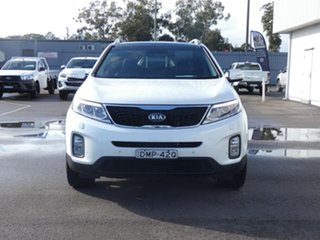 2013 Kia Sorento XM MY13 Platinum 4WD White 6 Speed Sports Automatic Wagon.