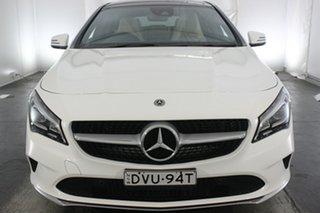 2018 Mercedes-Benz CLA220 X117 808+058MY d Shooting Brake DCT White 7 Speed.