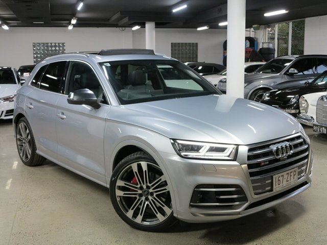 Used Audi SQ5 FY MY20 Tiptronic Quattro, 2019 Audi SQ5 FY MY20 Tiptronic Quattro Silver 8 Speed Sports Automatic Wagon