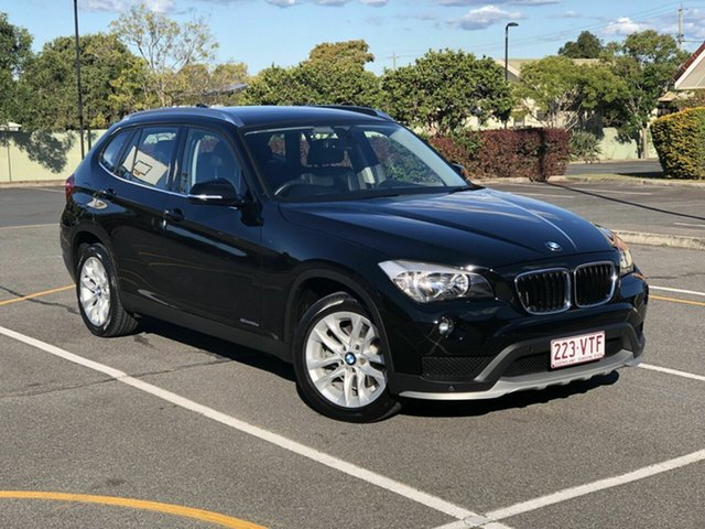 Used BMW X1 E84 MY0714 sDrive18d, 2015 BMW X1 E84 MY0714 sDrive18d Black 8 Speed Sports Automatic Wagon