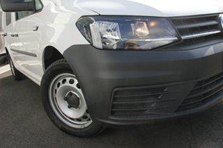 2019 Volkswagen Caddy 2KN MY20 TSI220 Crewvan Maxi DSG White 7 Speed Sports Automatic Dual Clutch.