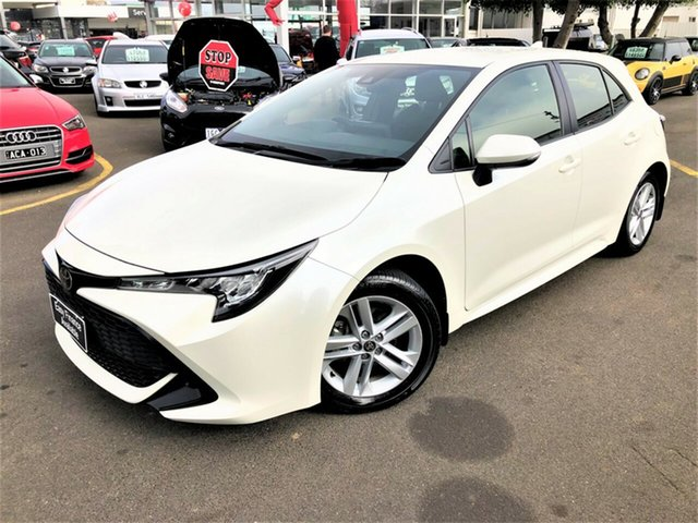 Used Toyota Corolla Mzea12R Ascent Sport Seaford, 2018 Toyota Corolla Mzea12R Ascent Sport White 10 Speed Constant Variable Hatchback