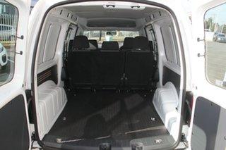 2019 Volkswagen Caddy 2KN MY20 TSI220 Crewvan Maxi DSG White 7 Speed Sports Automatic Dual Clutch