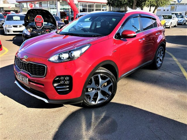 Used Kia Sportage QL MY16 Platinum AWD, 2016 Kia Sportage QL MY16 Platinum AWD Red 6 Speed Sports Automatic Wagon