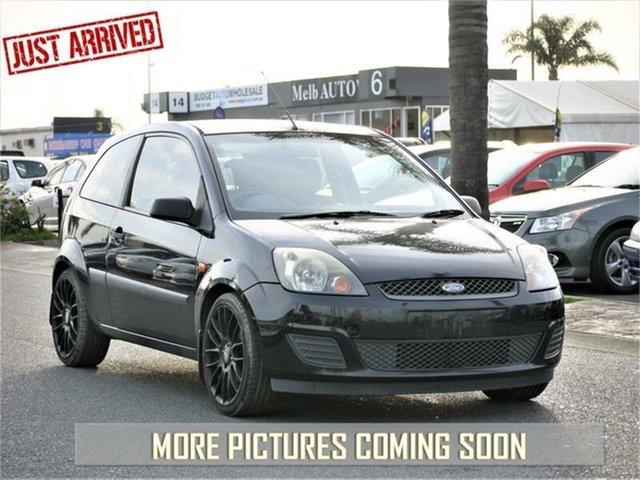Used Ford Fiesta WQ LX, 2006 Ford Fiesta WQ LX Black Automatic Hatchback