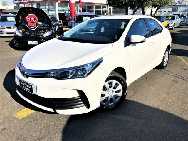 Used Toyota Corolla ZRE172R Ascent S-CVT Seaford, 2019 Toyota Corolla ZRE172R Ascent S-CVT White 7 Speed Constant Variable Sedan