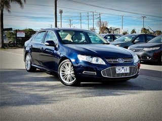 2012 Ford Falcon FG MkII G6E Blue Sports Automatic Sedan.