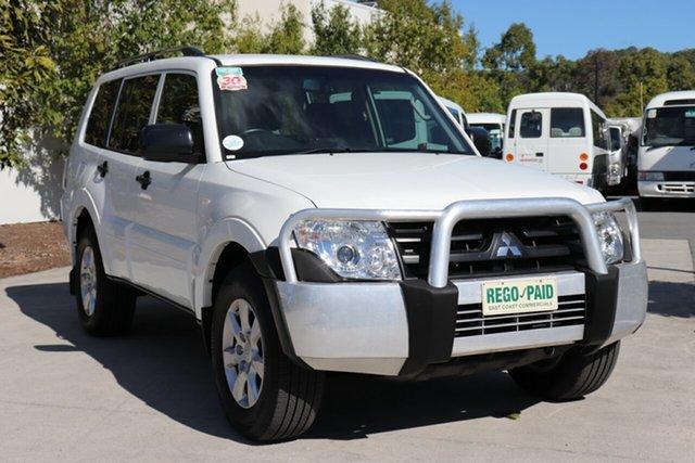 Used Mitsubishi Pajero NW MY14 GLX, 2014 Mitsubishi Pajero NW MY14 GLX White 5 speed Automatic Wagon