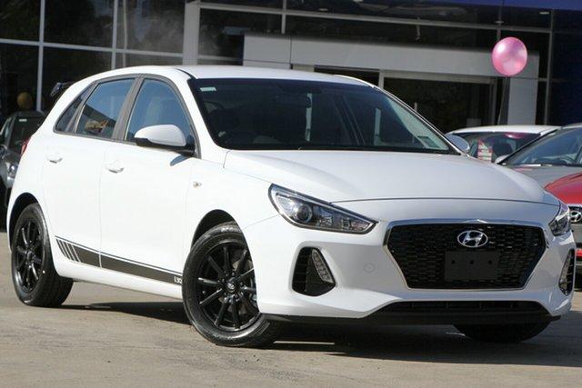 New Hyundai i30 PD.3 MY20 Go, 2019 Hyundai i30 PD.3 MY20 Go Polar White 6 Speed Sports Automatic Hatchback