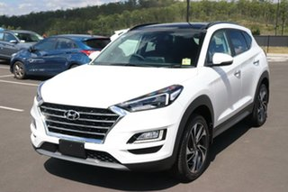2020 Hyundai Tucson TL3 MY20 Highlander D-CT AWD Pure White 7 Speed Sports Automatic Dual Clutch.