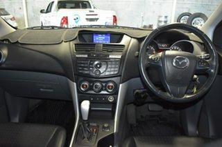 2012 Mazda BT-50 GT (4x4) Silver 6 Speed Automatic Dual Cab Utility.