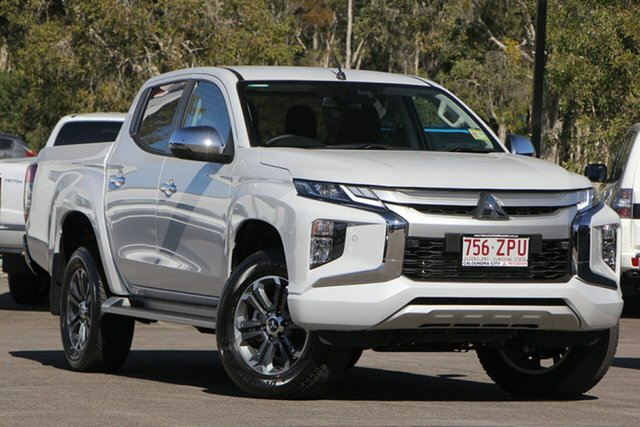 Demo Mitsubishi Triton MR MY19 GLS Double Cab, 2019 Mitsubishi Triton MR MY19 GLS Double Cab White Diamond 6 Speed Sports Automatic Utility