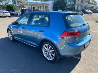 2016 Volkswagen Golf VII MY16 110TSI DSG Highline Blue 7 Speed Sports Automatic Dual Clutch