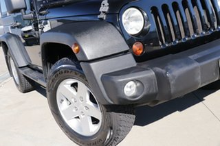 2011 Jeep Wrangler JK MY09 Sport (4x4) Black 4 Speed Automatic Softtop.