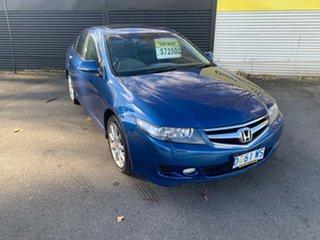 2006 Honda Accord Euro CL MY2006 Blue 6 Speed Manual Sedan.